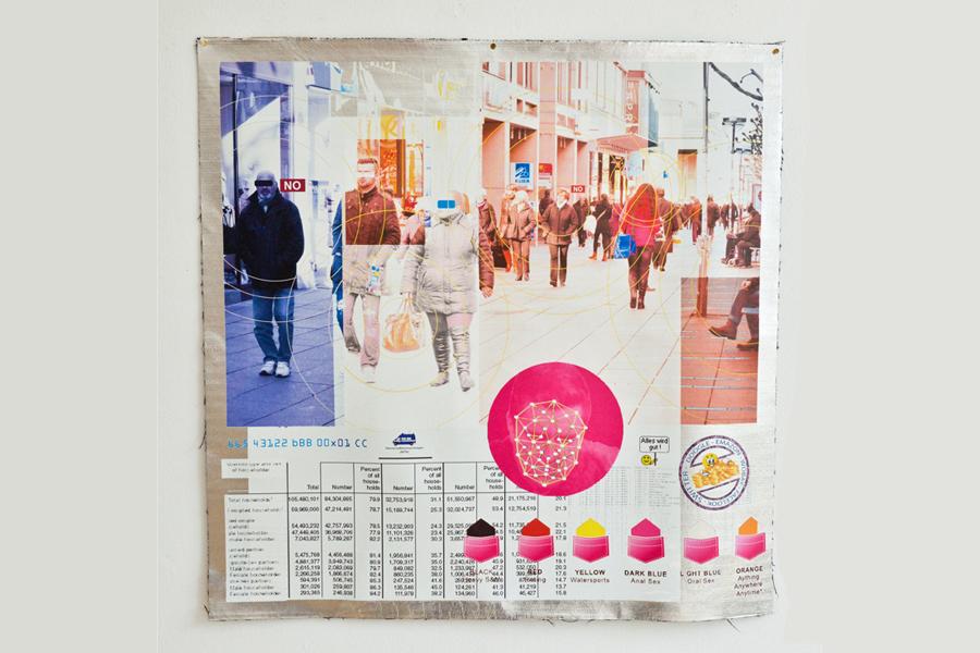 Beate Baumgärtner, Orwell reloaded, WKV, Mitgliederausstellung