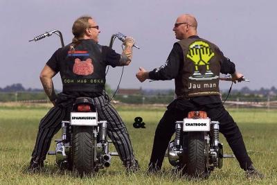 Beate Baumgärtner, Spammuseum-Chatbook, Biker-Quadrille
