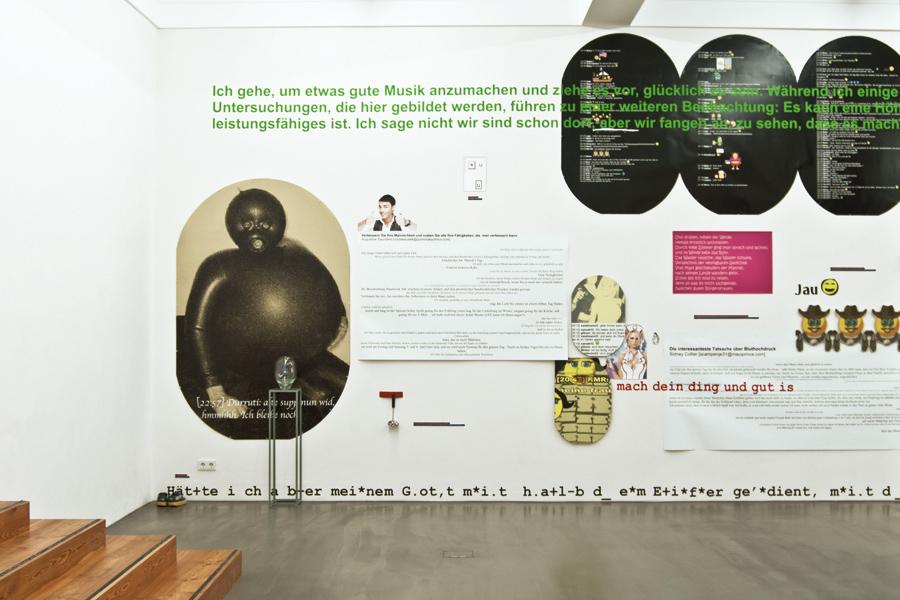 Beate Baumgärtner und Stefanie Reling, Spammuseum-Chatbook, Museum Biedermann