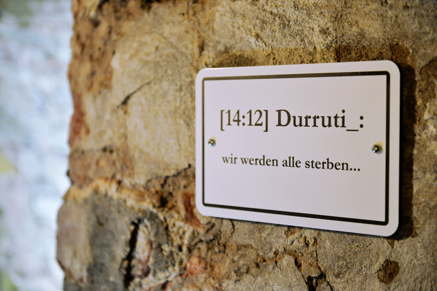 Beate Baumgärtner, Chatbook, 15 Zitate, 8. Höhler Biennale
