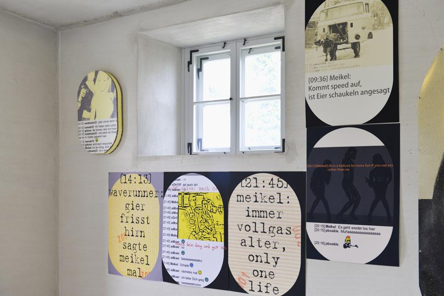 Beate Baumgärtner, Schattenwelt-Lichtblicke, Höhler Biennale 2017 in Gera