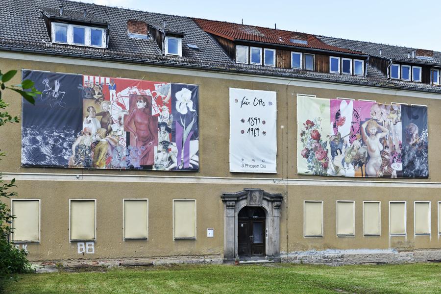 Beate Baumgärtner, Schattenwelt-Lichtblicke, 8. Höhler Biennale 2017 in Gera