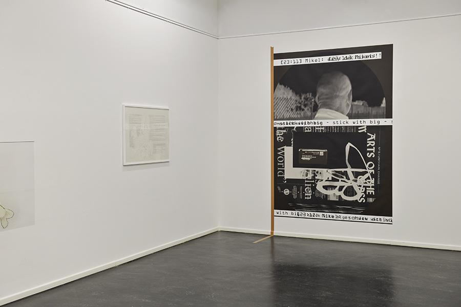 Beate Baumgärtner, Chatbook, stick with big, 93, Ausstellung, GEDOK Stuttgart, Gustav-Siegle-Haus, Kunstbezirk, Stuttgart