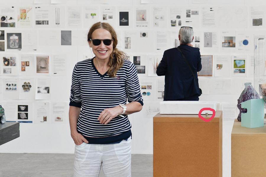 Beate Baumgärtner mit Yoko Ono, Museum der bildenden Künste, Leipzig